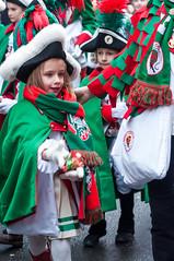 Kinder Fußgruppe der Altsdtädter