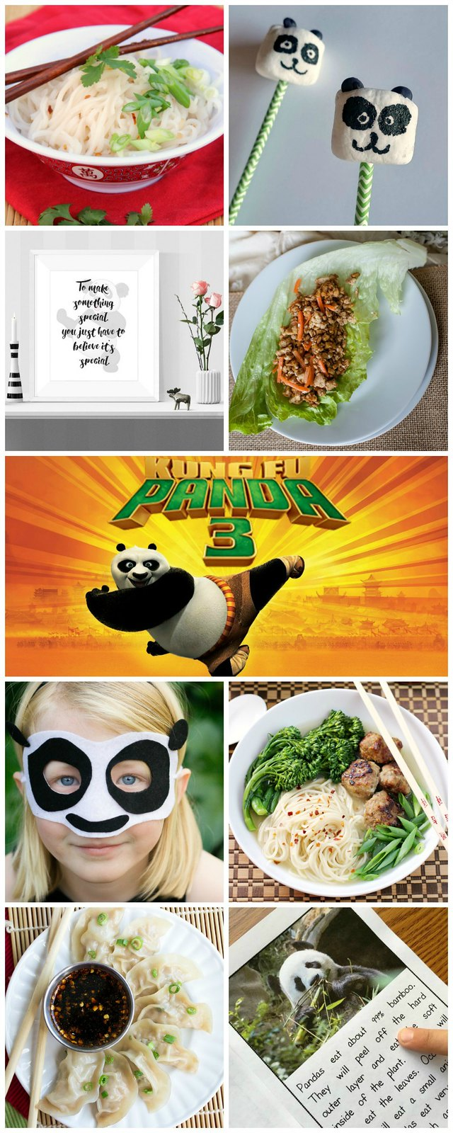 Kung Fu Panda 3 collage.