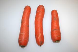 07 - Zutat Möhren / Ingredient carrots