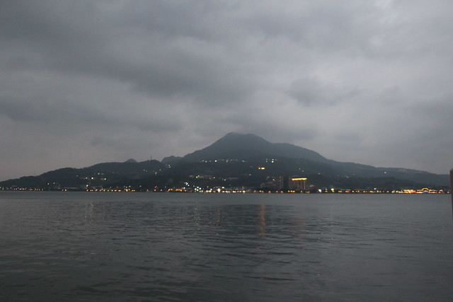 View across the Tamsui River