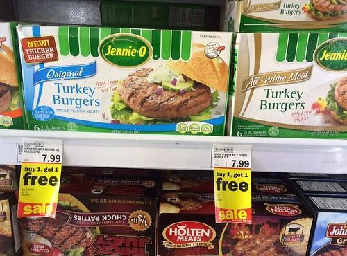 Jennie-O Frozen Turkey Burgers