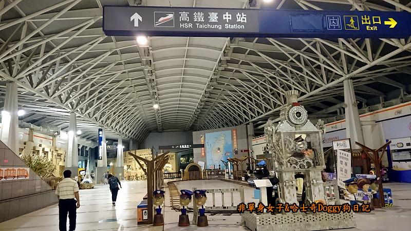 臺鐵新烏日vs高鐵台中站24