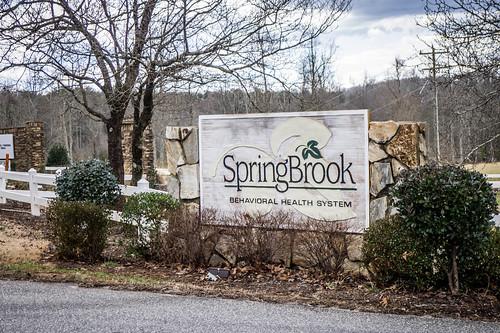 Springbrook Sign