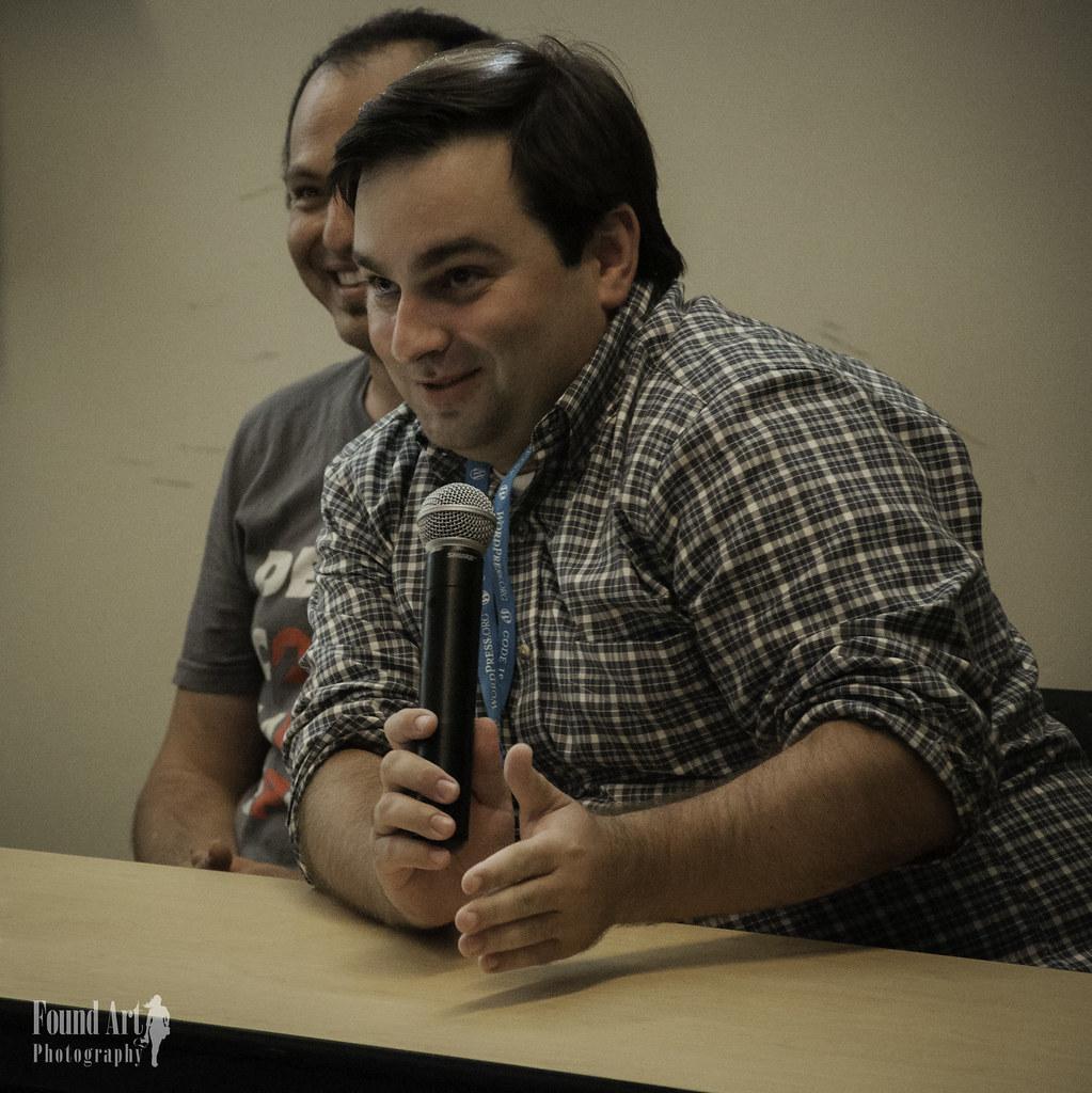 2015 WordCamp Asheville - Jeff Bowen, Adam Silverstein, Will Haley, Micah Wood, Julien Melissas