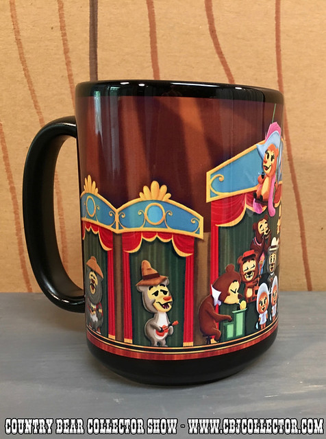 2015 Disney 'Ensemble' Art by Daniel Handke Coffee Mug - Country Bear Jamboree Collector Show #037