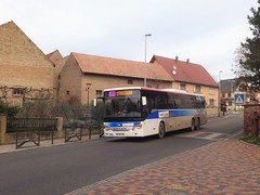 Setra S 419 UL n°929  -  Bas-Rhin CTBR - Ligne 220