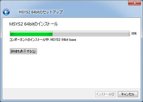 MSYS2 Installing (4)
