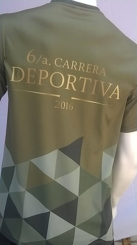 Playera de la Carrera Deportiva Secretaria de la Defensa