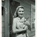 Pin curls and a kitten by sctatepdx