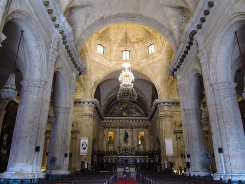 La Havane: la Cathédrale San Cristóbal de La Habana