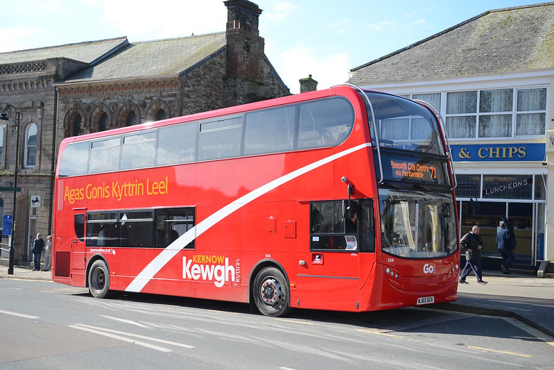 Plymouth Citybus 534 WJ65BZA