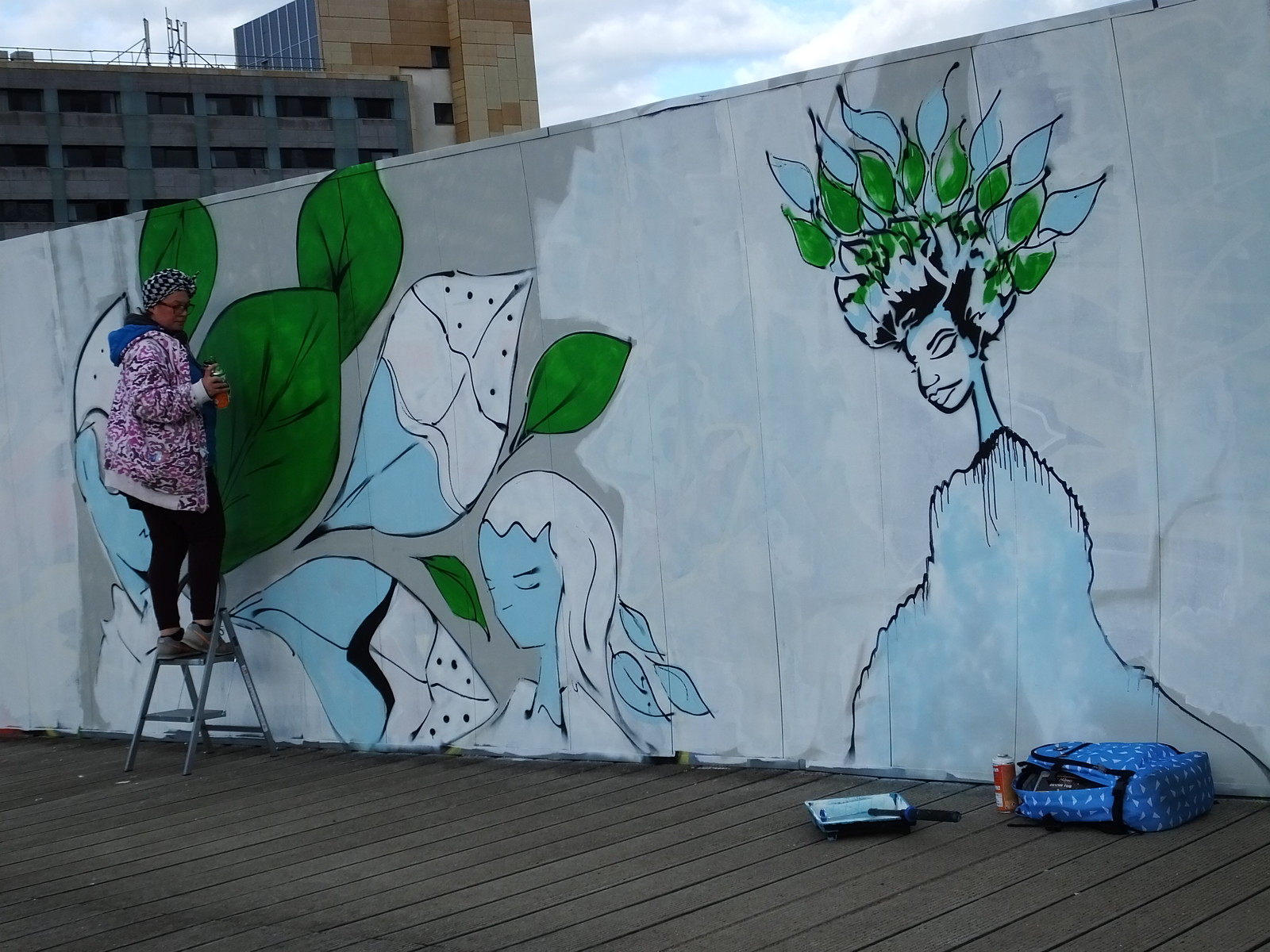 Back to Nature Paint Jam, Cardiff