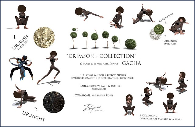 ROQUAI's Crimson-Collection (GachaKey) @ PoseFair'16