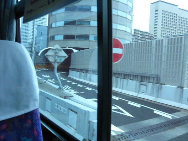 梅田の阪神高速立体道路 (2)