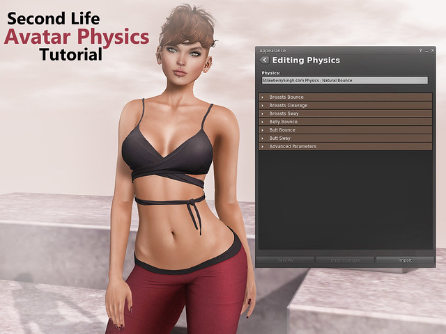 Second Life Avatar Physics Tutorial