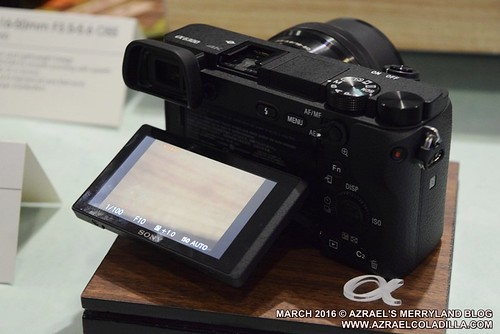 Sony Alpha 6300 mirrorless camera launch
