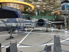 X-Wing at Changi