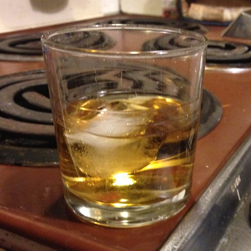 Why, yes, it *is* a single malt with an ice cube in it