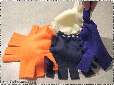 How to: No Sew Fleece Cube / Box Shelf 26026639390_9e6623875e
