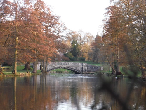 Hartwell House, Bridge in Park