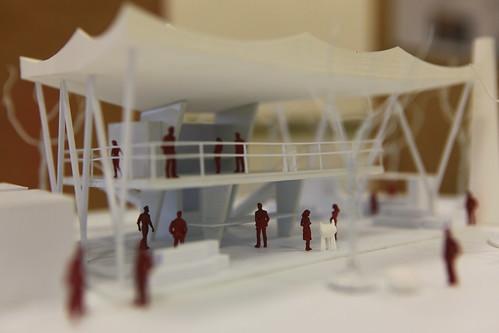 翁瑞鴻 - 漂浮的廟 第三屆福德祠學生競圖