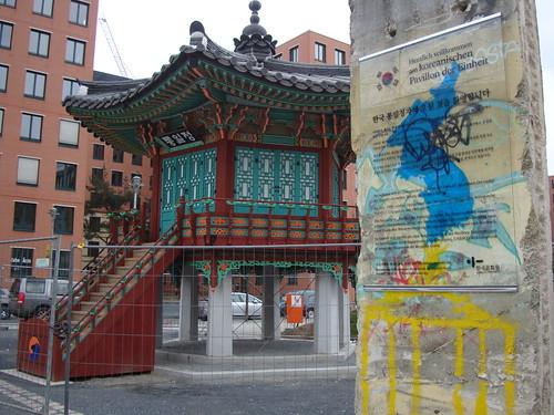 Pavillon der Einheit aus Korea