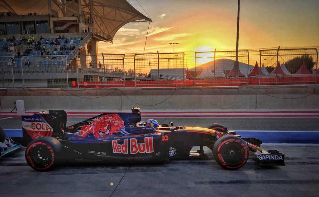 Max Verstappen from Toro Rosso team
