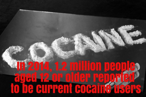 In 2014, 1.2 million people aged 12 or older reported to be current users of cocaine. thumbnail