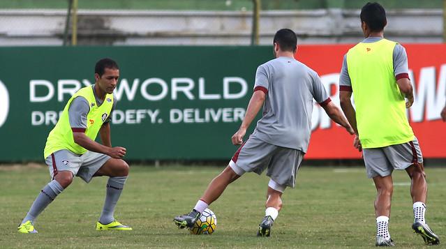 Fluminense: Levir comanda treino e indica força máxima para Copa do Brasil