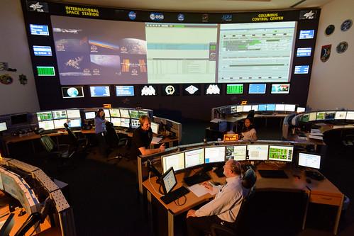 Das Columbus-Kontrollzentrum (Col-CC) am DLR-Standort Oberpfaffenhofen