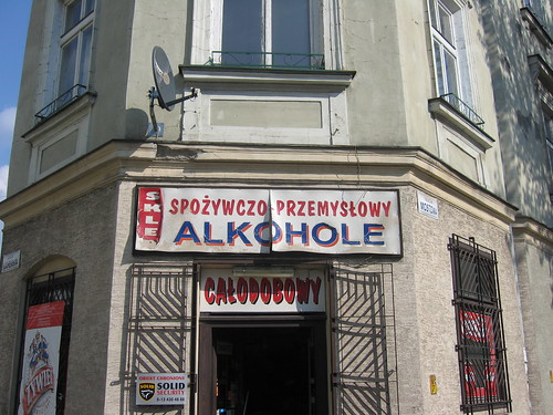shop in Kraków, Poland