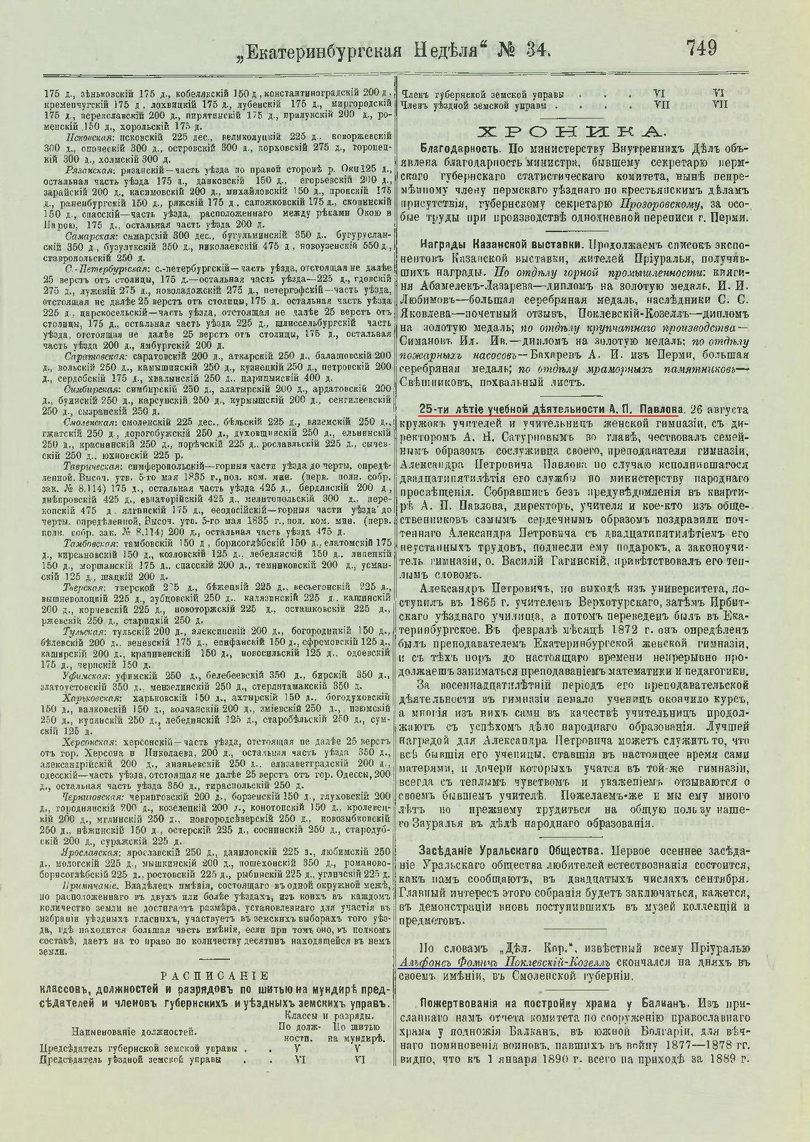 1890. № 34. Екатеринбургская неделя  (3)