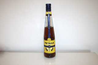 09 - Zutat Metaxa / Ingredient metaxa