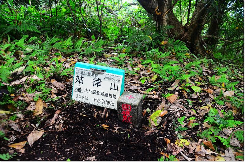 姑律土地調查局圖根點(Elev. 389 m) 1