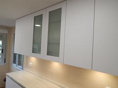 detalle vitrina con marco