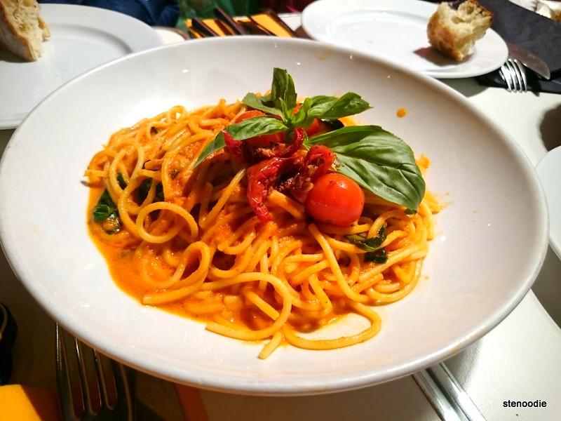 plate of Spaghetti Napo