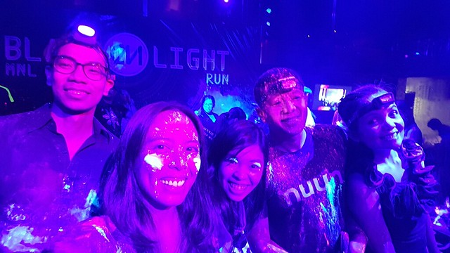 Color Manila Blacklight Run launch