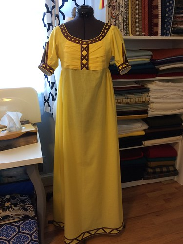 Yellow Ballgown
