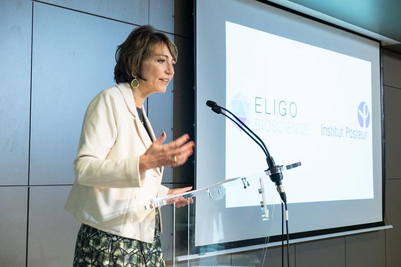Inauguration d'Eligo Biosciences à l'Institut Pasteur