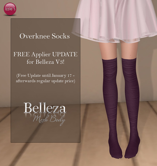 Overknee Socks Applier Update