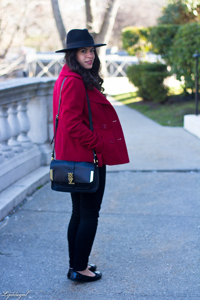 grey sweater, black denim, red peacoat, fedora-5.jpg