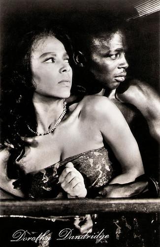 Dorothy Dandridge and Alex Cressan in Tamango (1958)