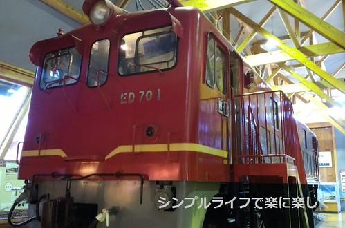 長浜鉄道スクエア、ED70