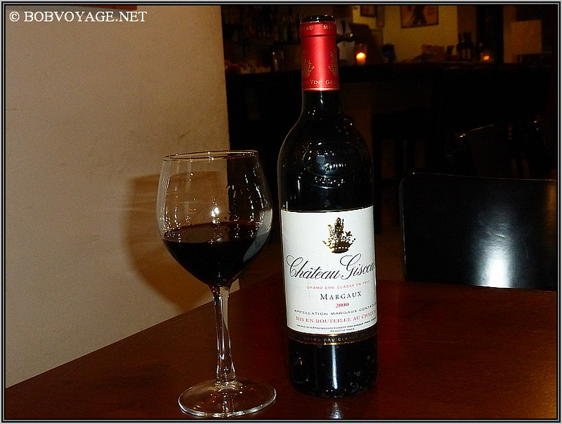 Chateau Giscours Margaux 2000 ב- גיליז