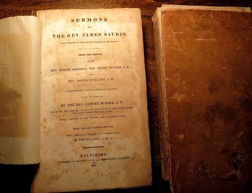 Sermons Of The Rev. James Saurin