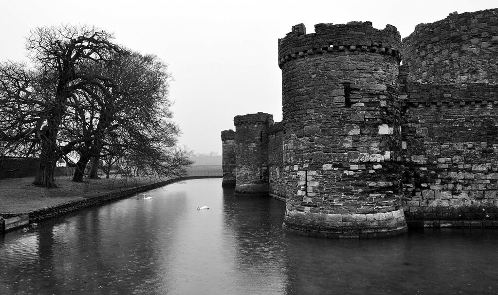 Beaumaris Castle. Credit xlibber