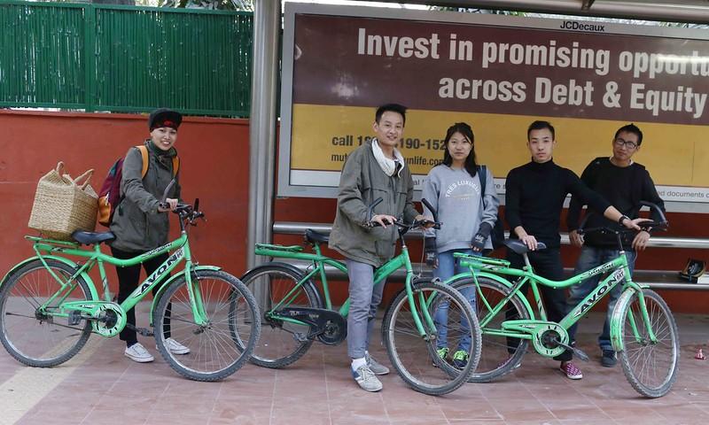 City Moment – BRT Bikers, Bhishma Pitamah Road