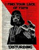 Just had to look something up on Google to prove a point to someone who wasn't taking me at face value. Fair enough, but I was feeling like this as a result. ;) #google #sith #starwars #darthvader #faith #lack #funny #lol