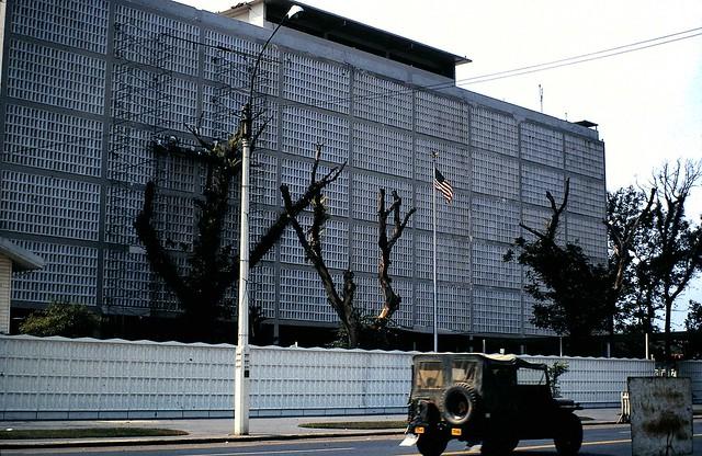 SAIGON 1966-70 by Jim 'Jimbo' McKinlay - Tòa Đại sứ Mỹ