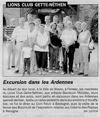 Houffalize Août 2003